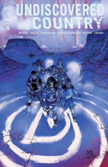 Image Comics Undiscovered Country #6A Comic Book