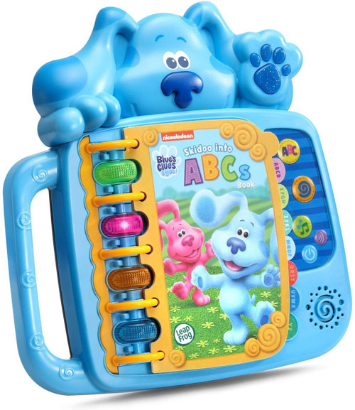 Leapfrog Blue's Clues & You! Skidoo Into ABC's Electronic Book [Blue]
