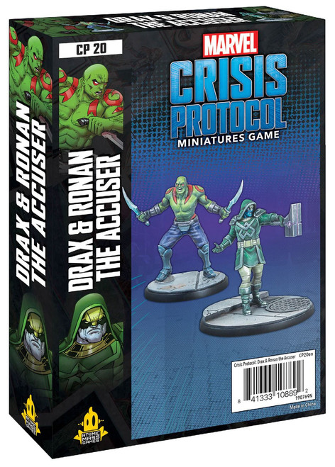 Marvel Crisis Protocol Drax & Ronan the Accuser Character Pack