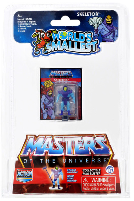 World's Smallest Masters of the Universe Skeletor 1.25-Inch Micro Figure