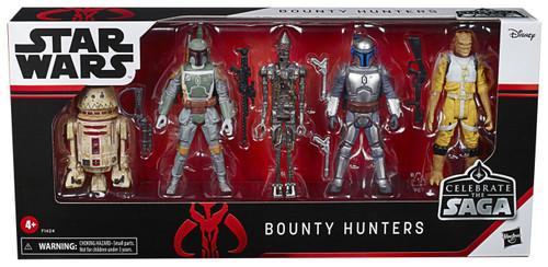 Star Wars Celebrate the Saga Bounty Hunters Action Figure 5-Pack [R5-P8, Jango Fett, Boba Fett, Bossk & IG-88] (Pre-Order ships September)
