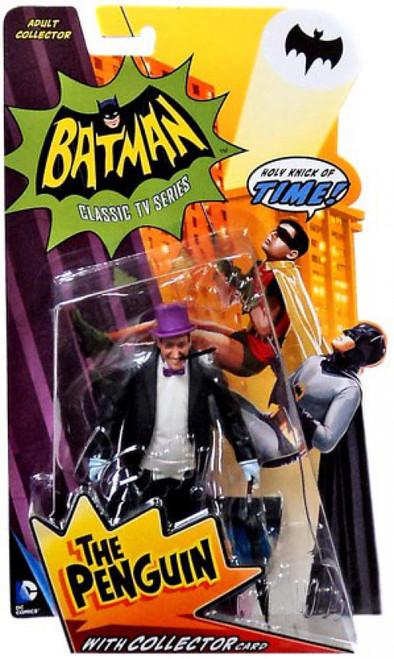 Batman 1966 TV Series Series 1 The Penguin Action Figure [Damaged Package]