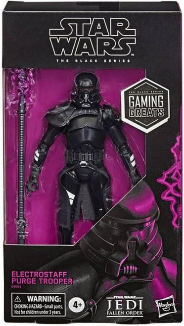 Star Wars Jedi: Fallen Order Black Series Electrostaff Purge Trooper Exclusive Action Figure [Gaming Greats]