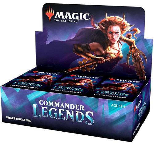 MtG Trading Card Game Commander Legends Draft Booster Box [24 Packs] (Pre-Order ships November)