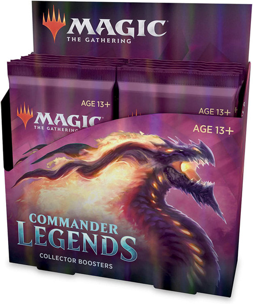 MtG Trading Card Game Commander Legends COLLECTOR Booster Box [12 Packs]