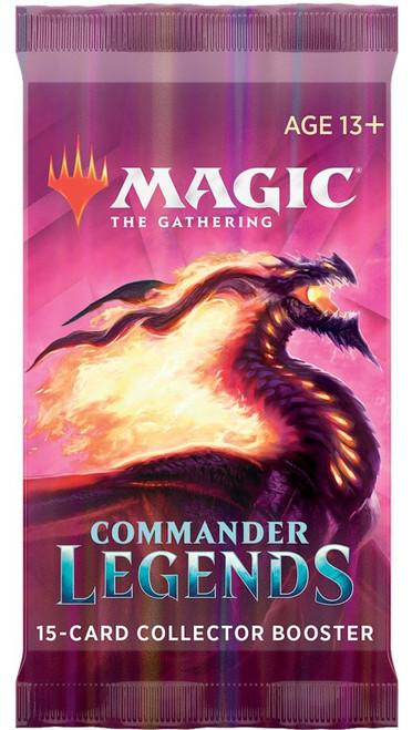 MtG Trading Card Game Commander Legends COLLECTOR Booster Pack [15 Cards]