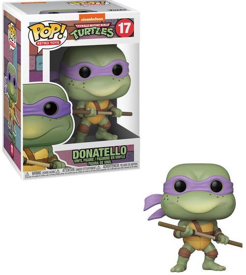 Funko Teenage Mutant Ninja Turtles POP! Retro Toys Donatello Vinyl Figure #17