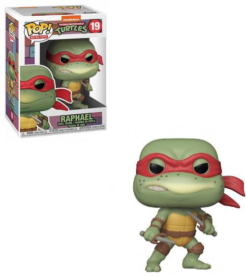 Funko Teenage Mutant Ninja Turtles POP! Retro Toys Raphael Vinyl Figure #19