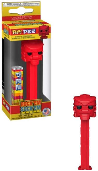 Funko Mattel RockEm SockEm POP! PEZ Red Rocker Candy Dispenser
