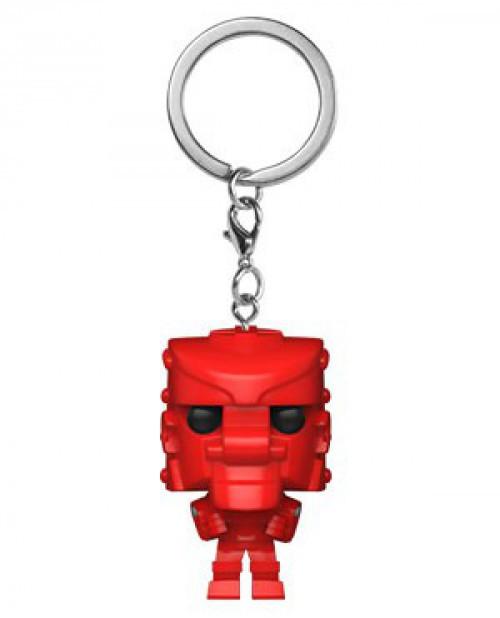 Funko Mattel RockEm SockEm POP! Keychain Red Rocker Keychain
