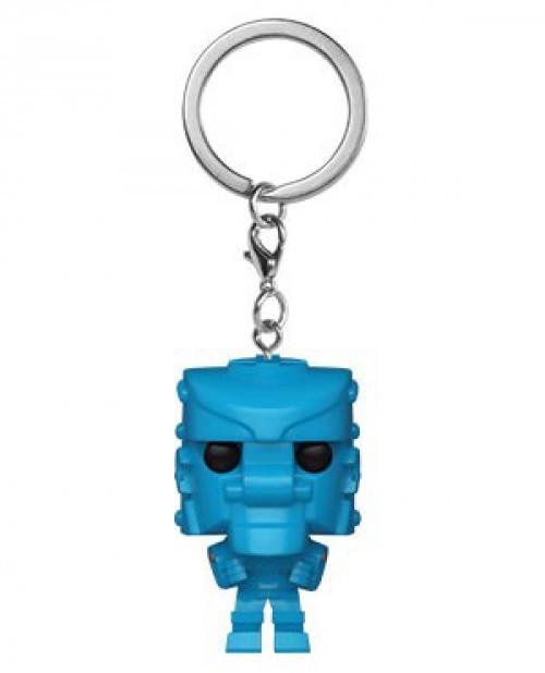 Funko Mattel RockEm SockEm POP! Keychain Blue Bomber Keychain