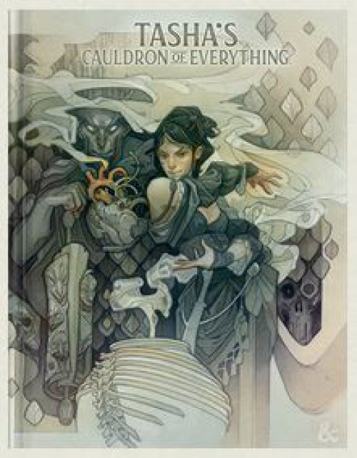 Dungeons & Dragons 5th Edition Tasha's Cauldron of Everything Hardcover Roleplaying Book [Alternate Cover]