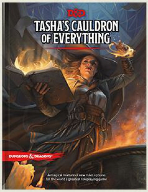 Dungeons & Dragons 5th Edition Tasha's Cauldron of Everything Hardcover Roleplaying Book [Regular Cover]