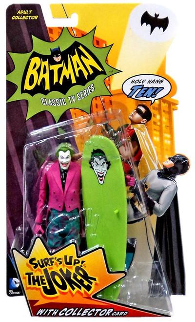 Batman 1966 TV Series Series 2 The Joker Action Figure [Surf's Up, Damaged Package]