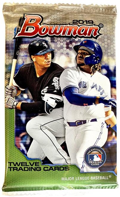 MLB Topps 2019 Bowman Baseball Trading Card RETAIL Pack [12 Cards!]