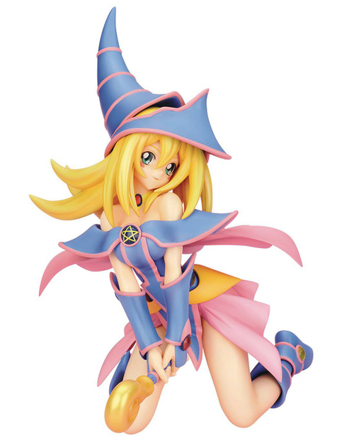 YuGiOh ArtFXJ Dark Magician Girl 7-Inch Collectible PVC Statue (Pre-Order ships May)