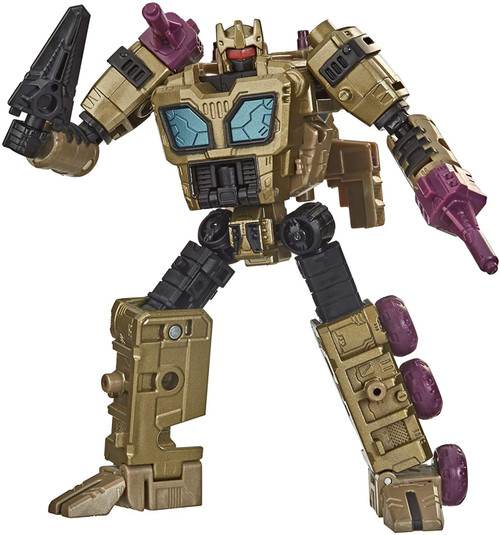 Transformers Generations Selects Black Roritchi Deluxe Action Figure WFC-GS22