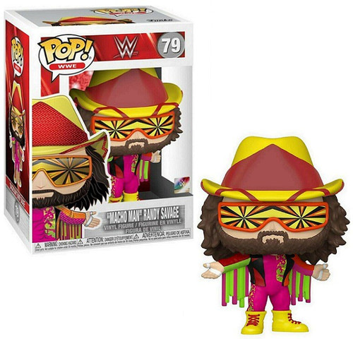 Funko WWE Wrestling NWSS POP! WWE Macho Man Randy Savage Vinyl Figure #79