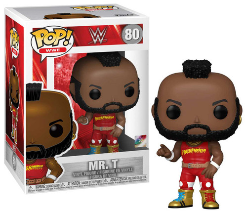 Funko WWE Wrestling NWSS POP! WWE Mr T Vinyl Figure