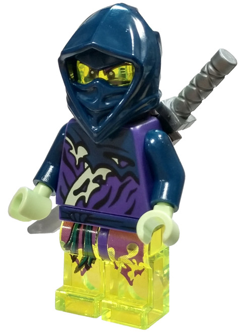 LEGO Ninjago Possession Ghost Ninja Hackler / Yokai Minifigure [Loose]