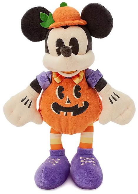 Disney 2020 Halloween Mickey Mouse Exclusive 15-Inch Plush [Pumpkin]