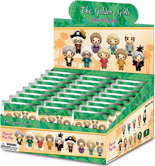 3D Figural Keyring Series 1 Golden Girls Mystery Box [24 Packs] (Pre-Order ships January)