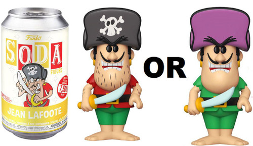 Funko Quaker Oats Cap'n Crunch Vinyl Soda Jean LaFoote Limited Edition of 12,500! Vinyl Figure [1 RANDOM Figure! Look For The Purple Hat Chase!]