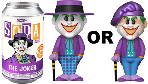 Funko DC Comics Vinyl Soda The Joker Limited Edition of 15,000! Vinyl Figure [1 RANDOM Figure! Look For The Rare Chase!]