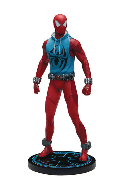 Marvel Gameverse Scarlet Spider-Man Resin Statue (Pre-Order ships February)
