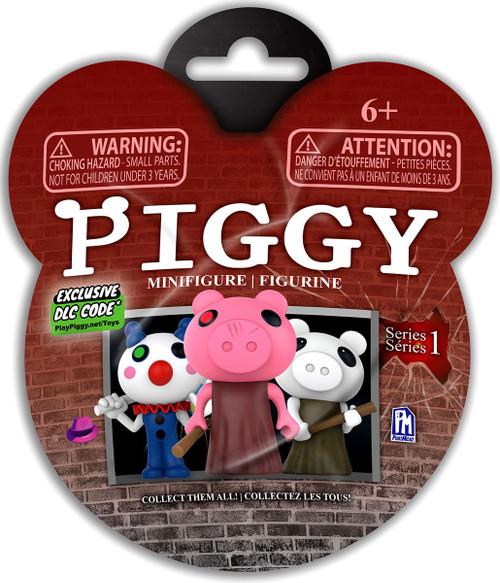 Series 1 Piggy 3-Inch Minifigure Mystery Pack [1 RANDOM Figure & DLC Code!]