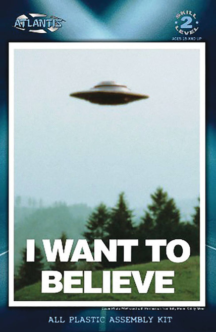 The X-Files I Want to Believe LED Model Kit