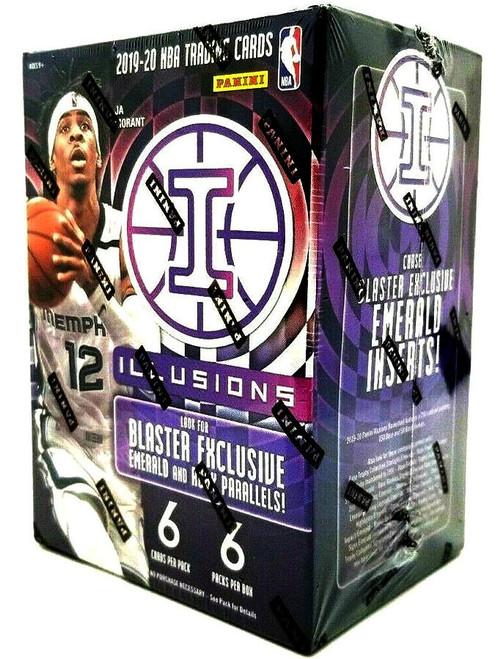 NBA Panini 2019-20 Illusions Basketball Trading Card BLASTER Box [6 Packs]