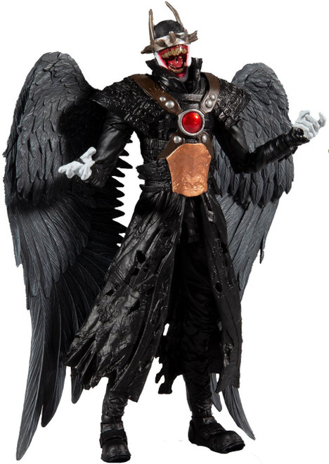 McFarlane Toys DC Multiverse Build Merciless Series Batman Who Laughs Action Figure [with Sky Tyrant Wings, Hawkman]