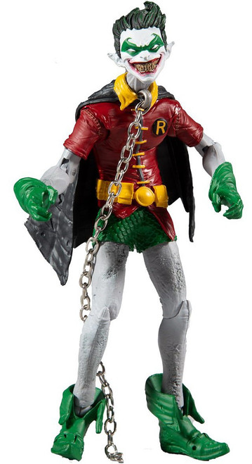 McFarlane Toys DC Multiverse Build Merciless Series Robin Earth -22 Action Figure