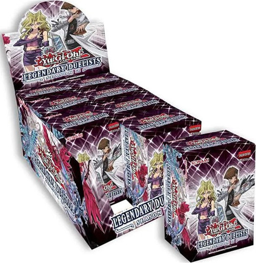 YuGiOh Trading Card Game Legendary Duelists Season 2 Blaster DISPLAY Box [8 Units]