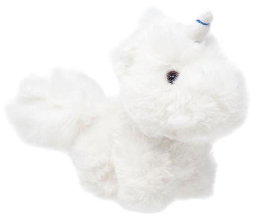 World's Softest Plush White Unicorn 5-Inch Plush