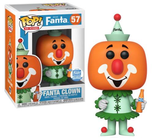 Funko POP! Ad Icons Fanta Clown Exclusive Vinyl Figure #57
