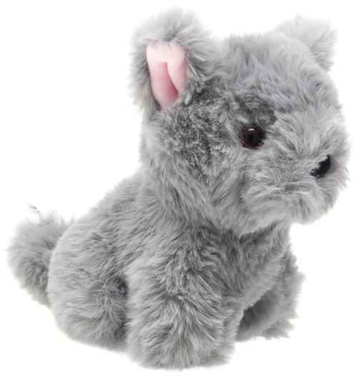 World's Softest Plush Grey Dog 5-Inch Plush