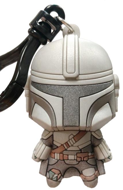 Star Wars 3D Figural Bag Clip The Mandalorian Series 1 The Mandalorian Keychain [Exclusive A Loose]