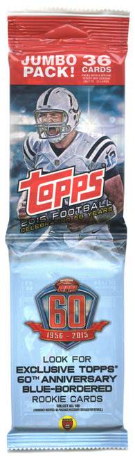 NFL Topps 2015 Football Trading Card JUMBO Pack [36 Cards]