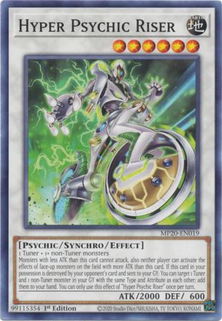 YuGiOh 2020 Tin of Lost Memories Common Hyper Psychic Riser MP20-EN019