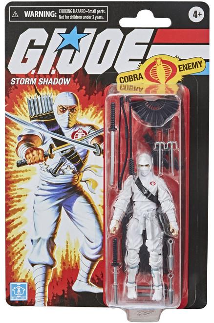 GI Joe Retro Collection Storm Shadow Exclusive Action Figure [Cobra Enemy]