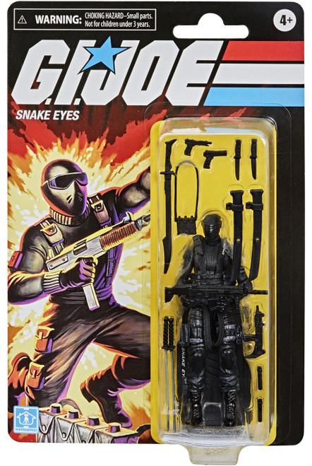 GI Joe Retro Collection Snake Eyes Exclusive Action Figure