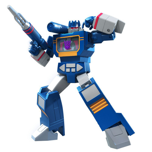 Transformers R.E.D. [Robot Enhanced Design] Vintage G1 Soundwave Exclusive Action Figure
