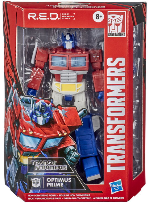 Transformers R.E.D. [Robot Enhanced Design] Vintage G1 Optimus Prime Exclusive Action Figure