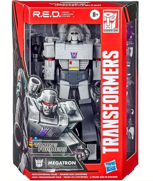 Transformers R.E.D. [Robot Enhanced Design] Vintage G1 Megatron Exclusive Action Figure