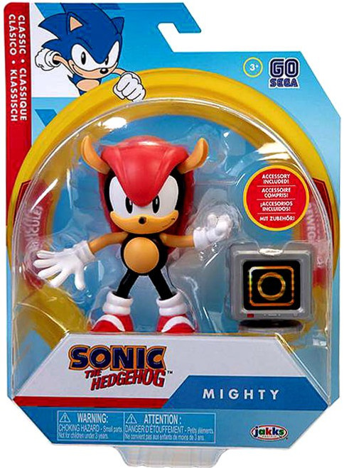Sonic The Hedgehog Basic Wave 3 Mighty Action Figure [Classic, with 1 Up Monitor]