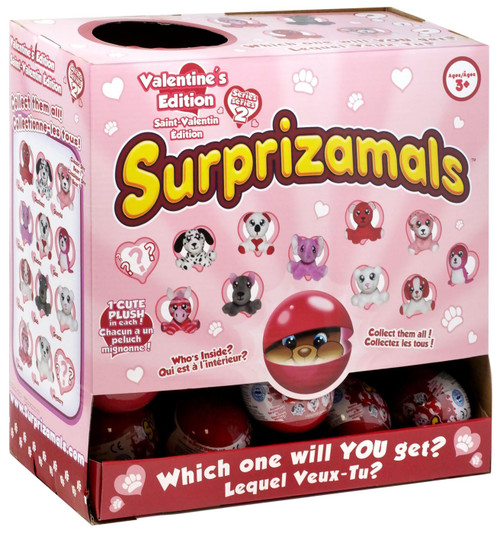 Surprizamals Valentine's Edition Series 2 Mystery Box [36 Packs]