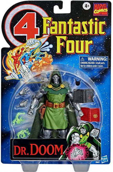 Marvel Fantastic Four Vintage Collection Dr. Doom Action Figure