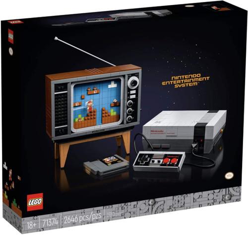 LEGO Super Mario Nintendo Entertainment System (NES) Set #71374
